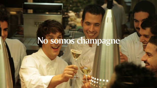 We are not champagne. We are Codorníu