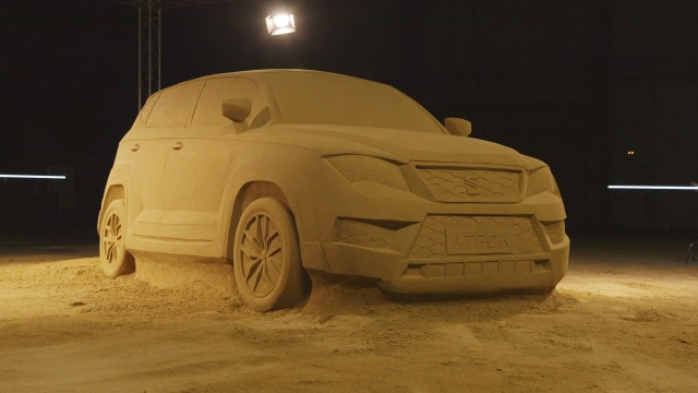SEAT Ateca Made of Sand