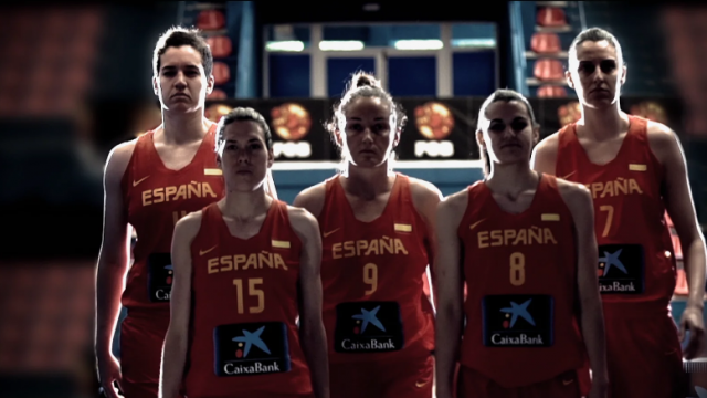 CaixaBank with the Spanish Women's Basketball Team