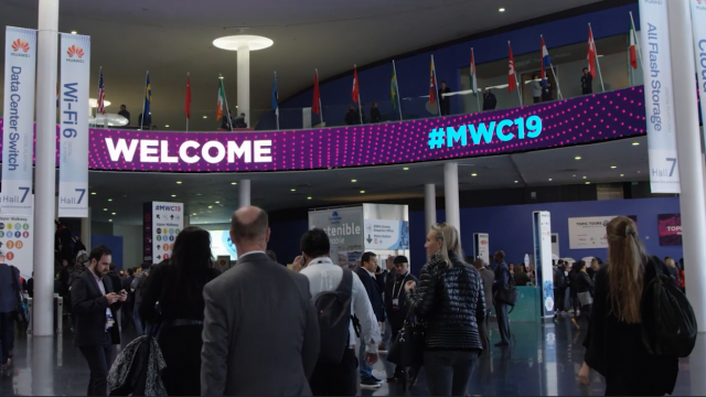 The hall 4 Experience at MWC19